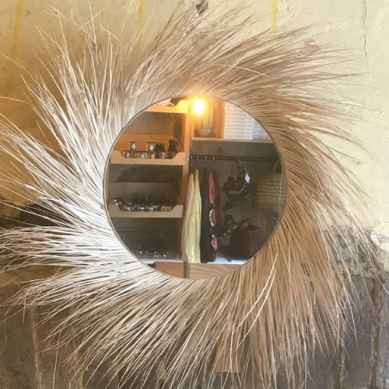 Rock The Kasbah | Mirror with Fringe
