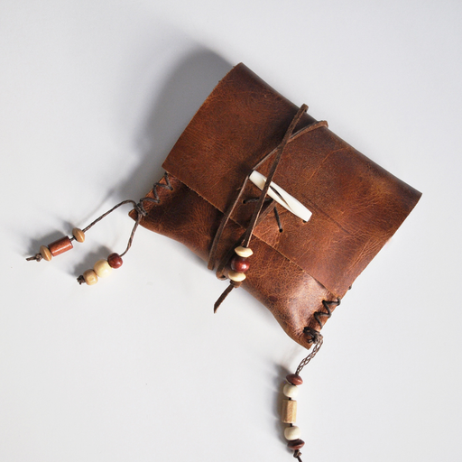 Rootfoot | Leather Medicine Pouch | Brown (1) + (2)
