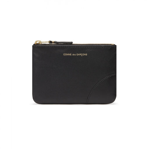 Comme Des Garcons Classic Black Leather Wallet