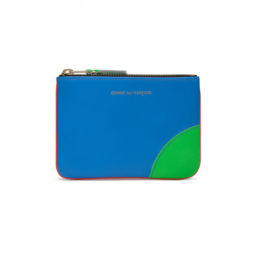 Comme Des Garcons Wallet Super Fluo - Orange / Blue