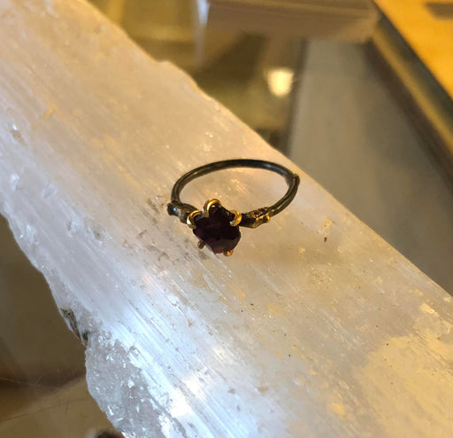 Variance Objects | Idaho Garnet Ring