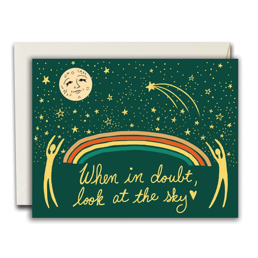 The Rainbow Vision | When in Doubt card