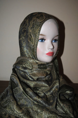 Patterned Pashmina