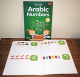 Wipe-Clean Fun With Arabic Numbers