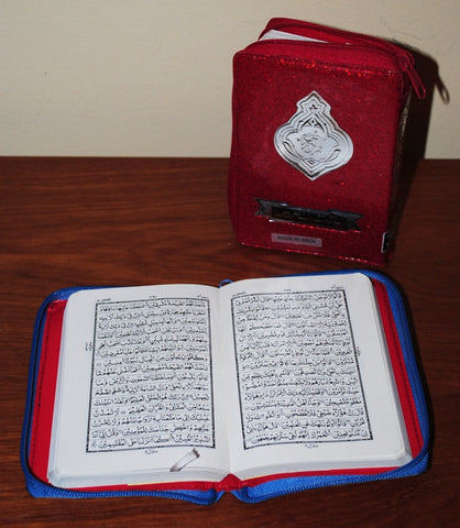 Code 347: 15-line Urdu Script Quran with Zipper