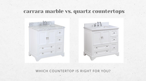 Carrara Marble vs. Quartz - Which Countertop is Right for You?