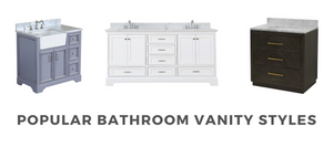 The Best Bathroom Vanity to Fit Your Home Decor