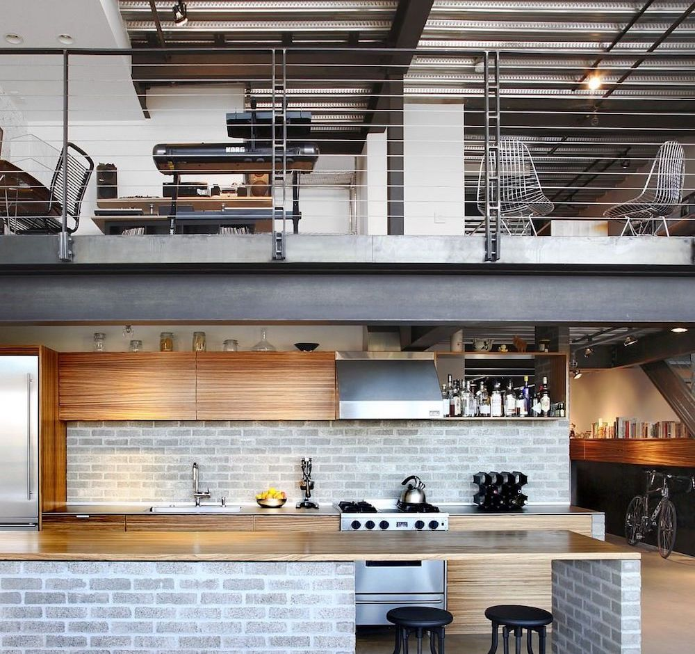 Modern Industrial Loft in Seattle