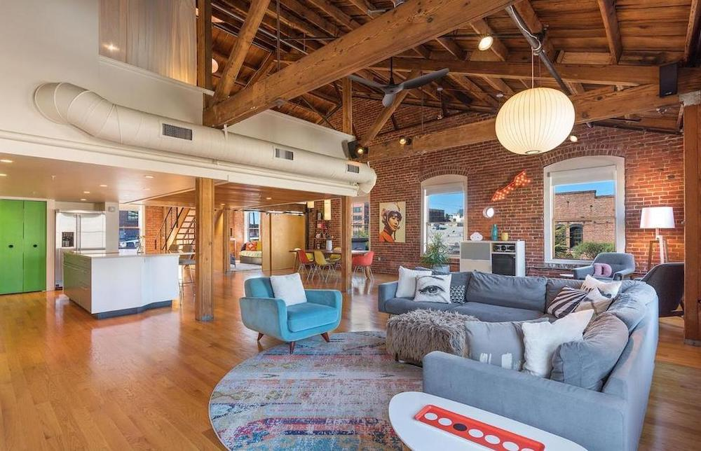 San Francisco Converted Loft House