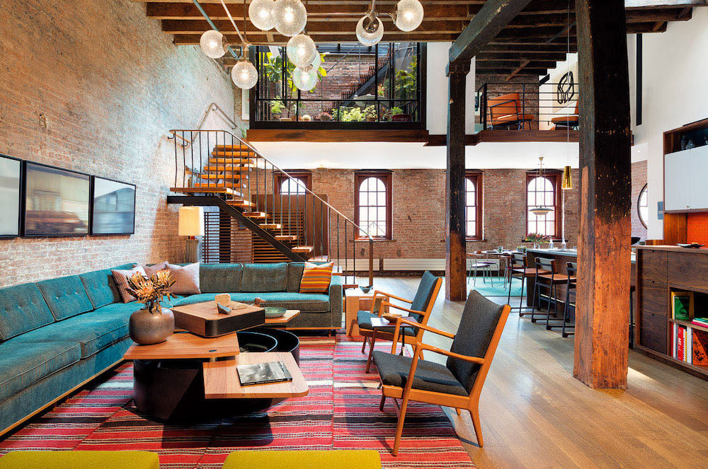 New York Tribeca Loft House
