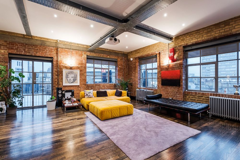 London Loft Apartment Chocolate Factory