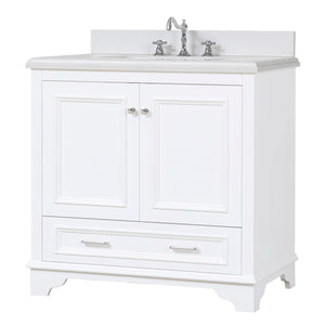 Nantucket 36-inch Vanity with Quartz Top