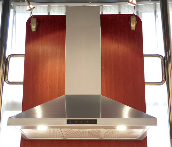 Stainless Steel Wall Hood By Kitchen Bath Collection