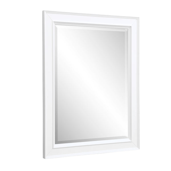 Napa 28-inch Wall Mirror (White)