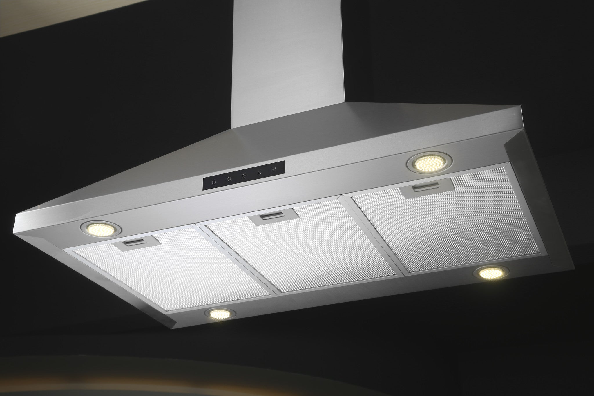 36-inch Stainless Steel Island Hood (Model C90-LED)