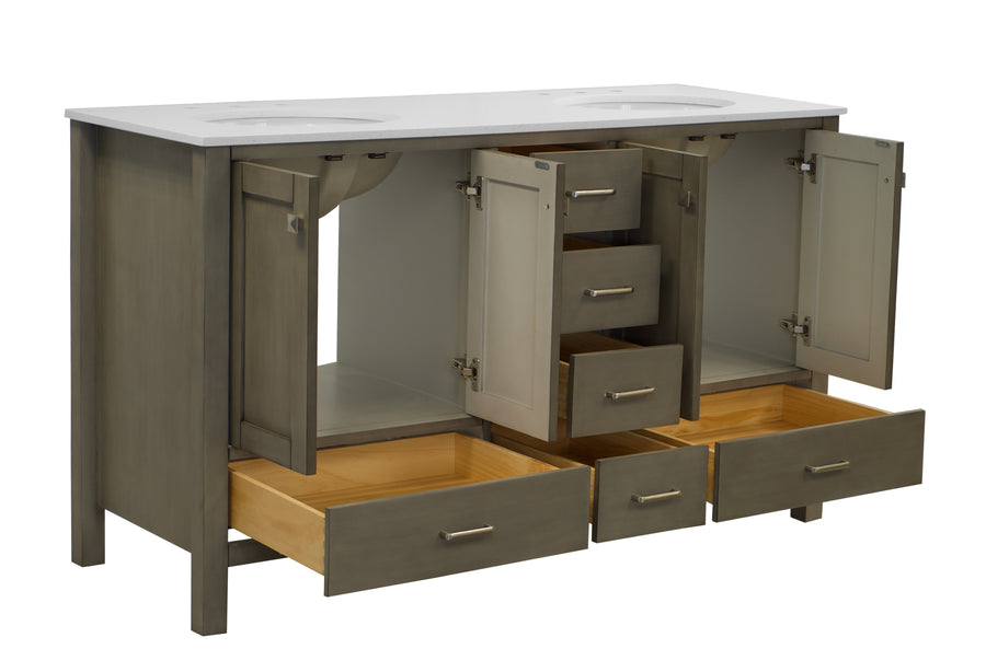 Horizon 60-inch Double Vanity (Quartz)