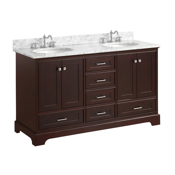 Harper 60-inch Double (Carrara/Chocolate)