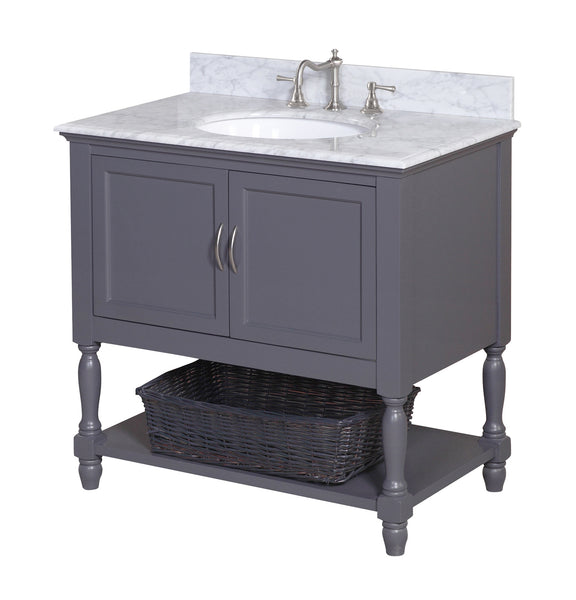 Beverly 60 Single Bathroom Vanity Set