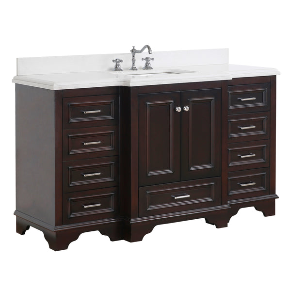 Nantucket 60-inch Single (Quartz/Chocolate)