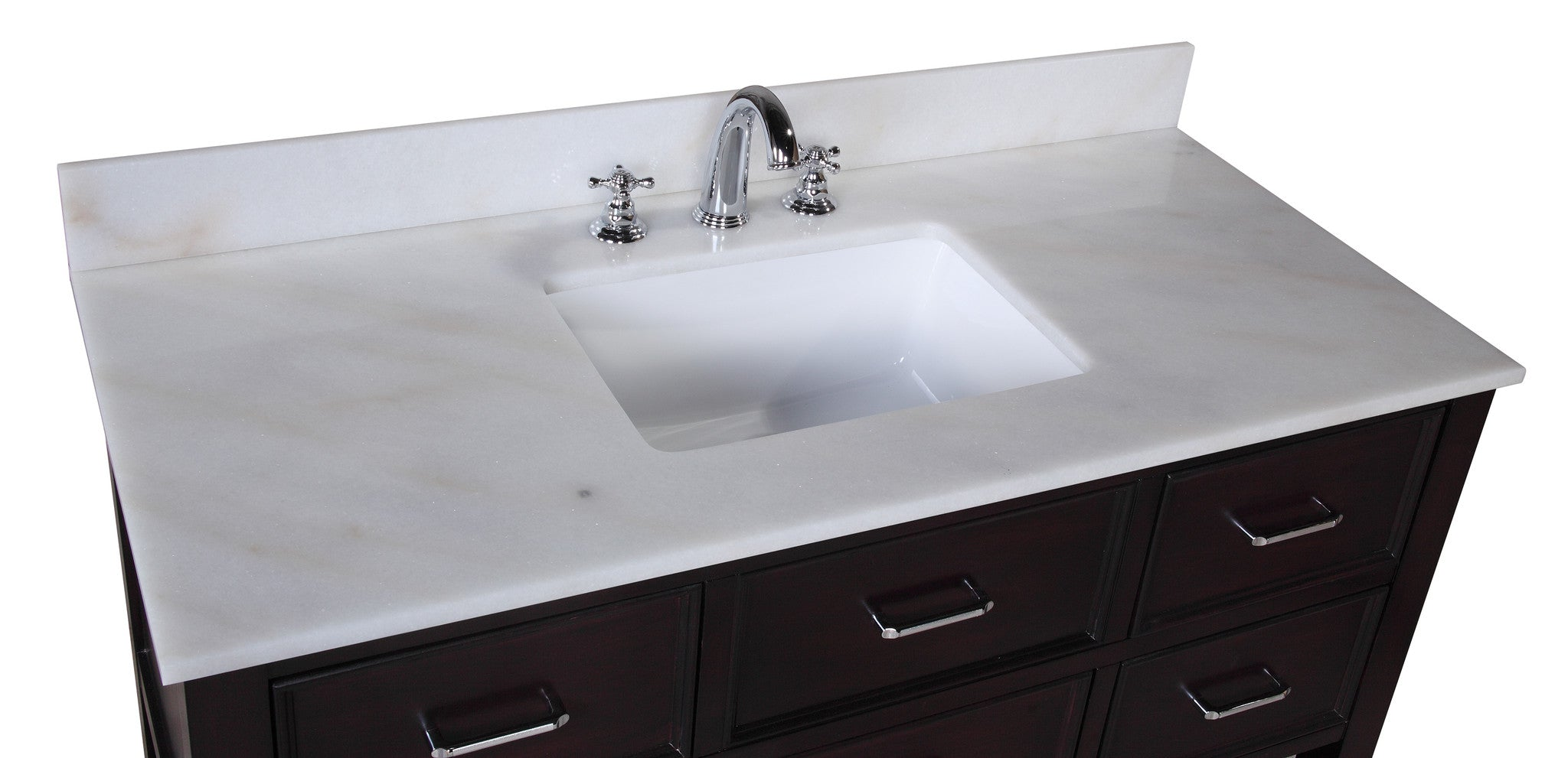 Kitchen Cabinets New Hampshire New Hampshire 48 Inch Vanity White Chocolate Kitchenbathcollection