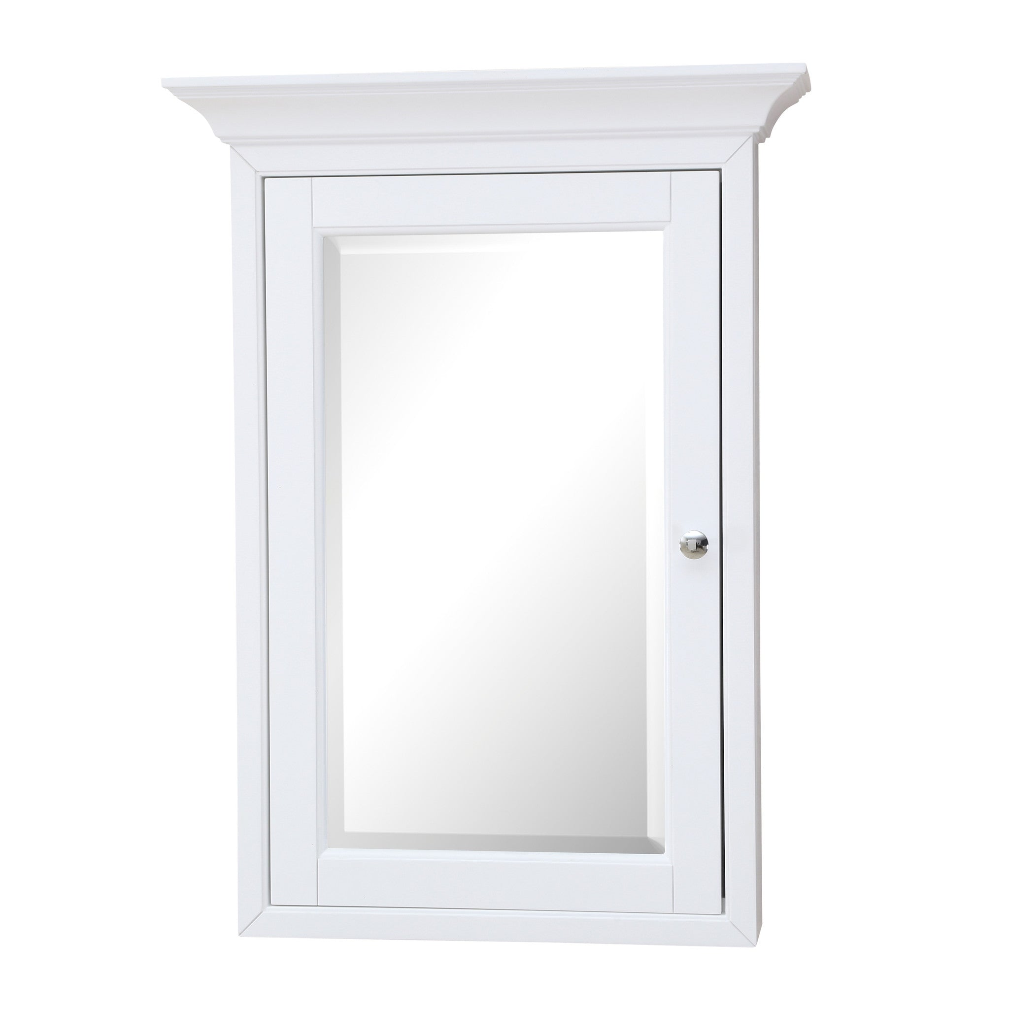 Newport Wall Mounted Medicine Cabinet (White) ...