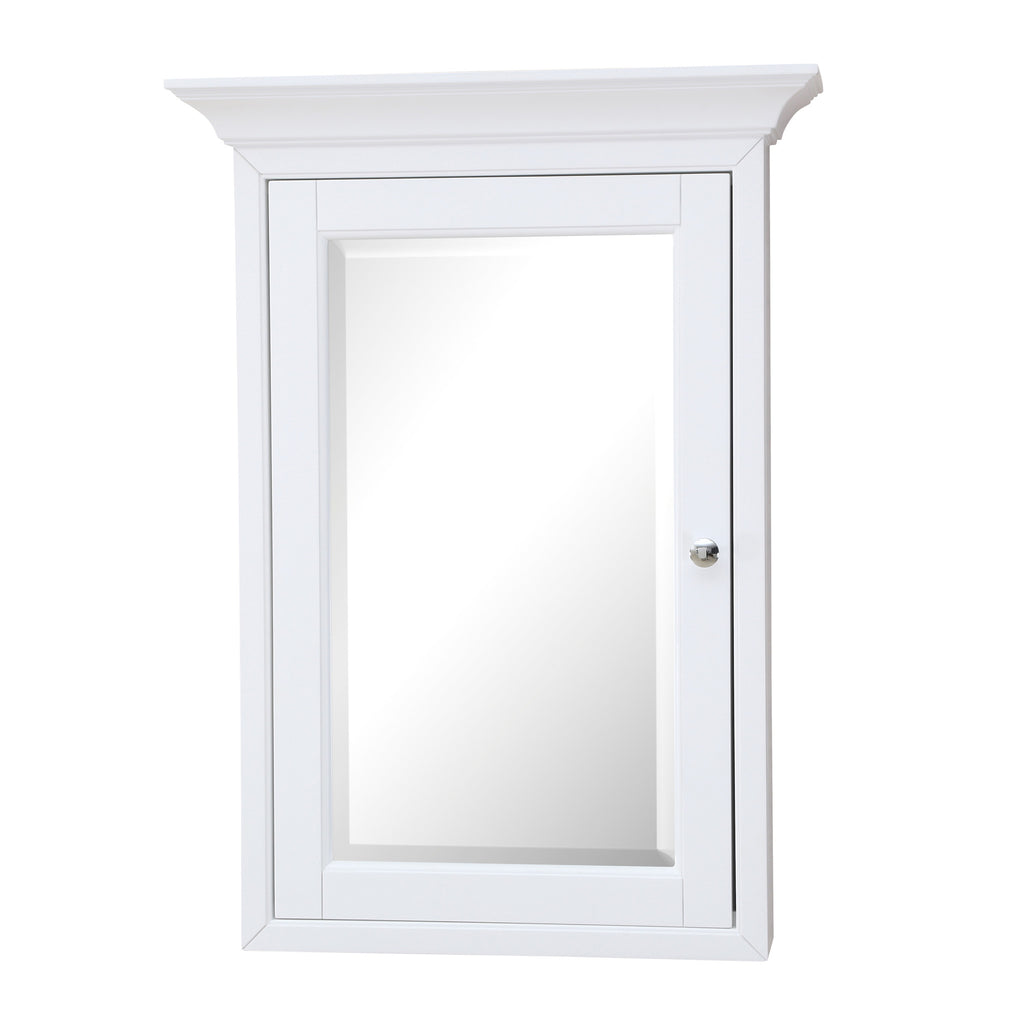 Newport Wall Mounted Medicine Cabinet White Kitchenbathcollection