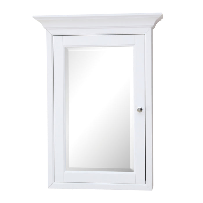 Newport Wall-Mounted Medicine Cabinet (White)