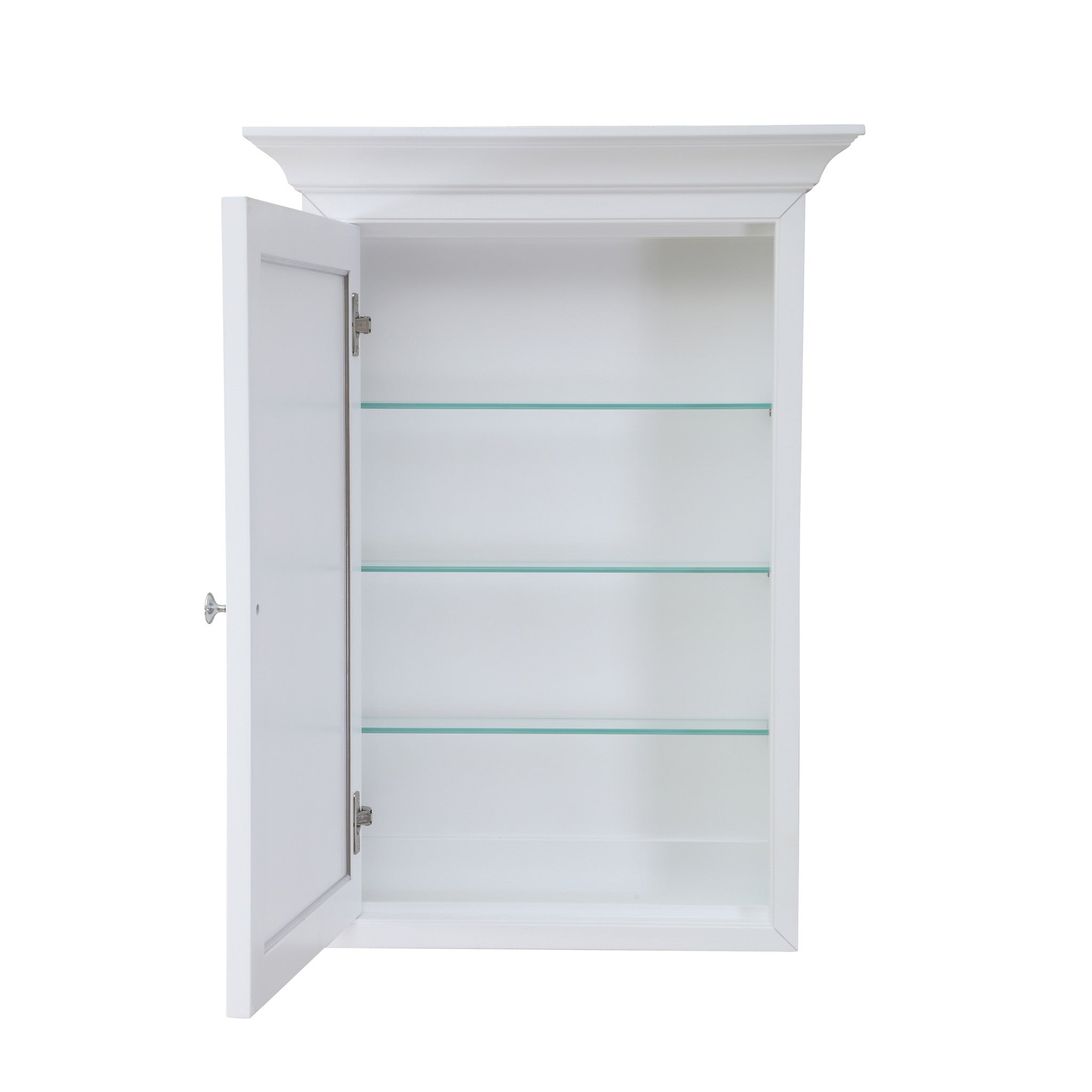 Newport Wall-Mounted Medicine Cabinet (White