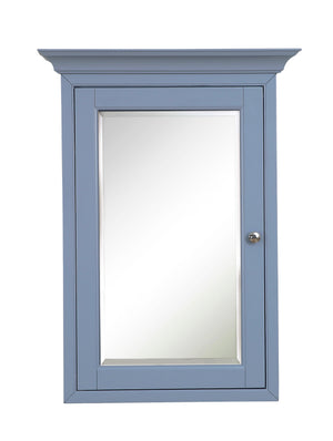 Newport Wall-Mounted Medicine Cabinet (Powder Blue)