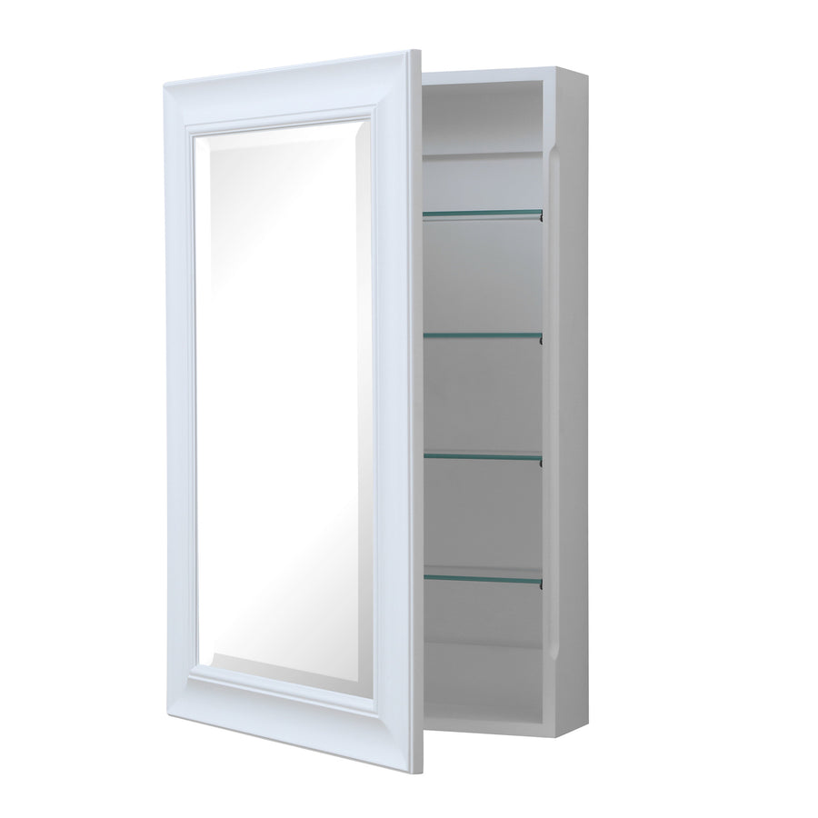 Napa Wall-Mounted Medicine Cabinet (White)