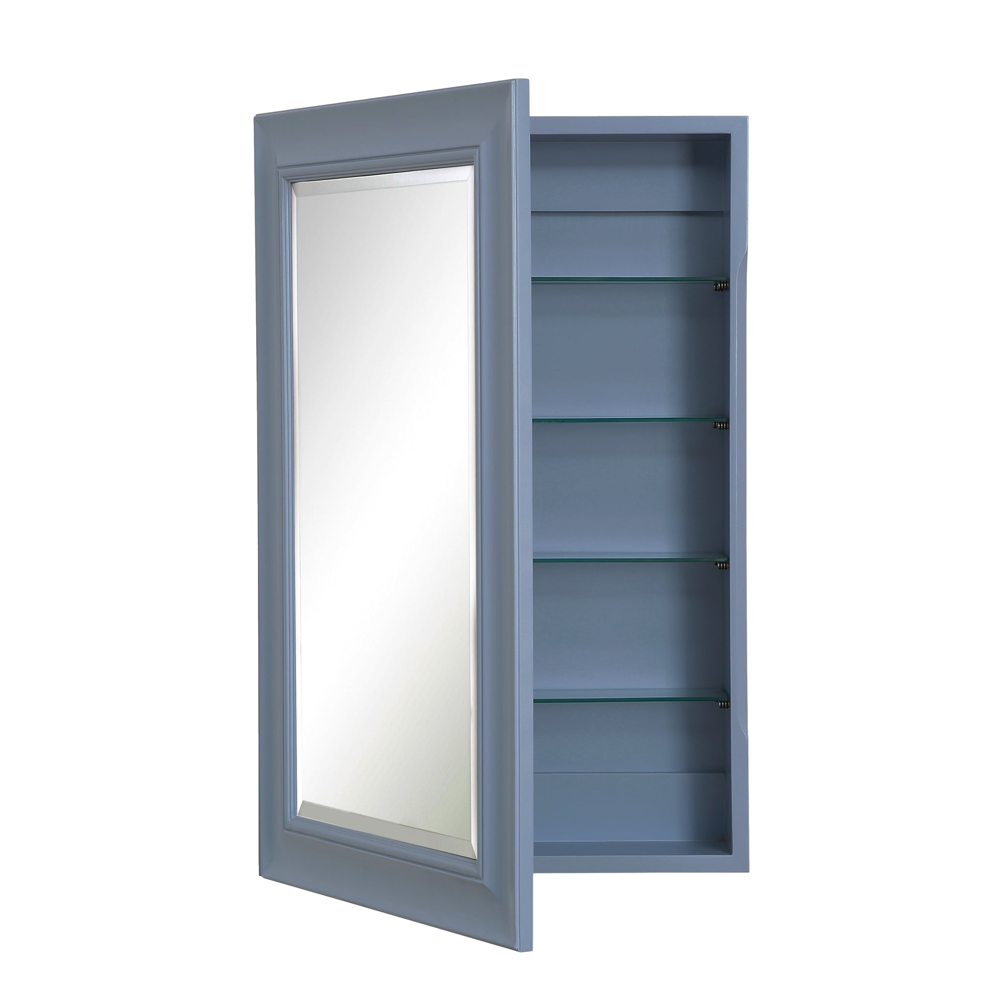 Napa Wall-Mounted Medicine Cabinet (Powder Blue
