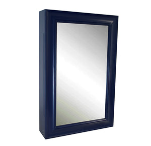 Napa Wall-Mounted Medicine Cabinet (Royal Blue)