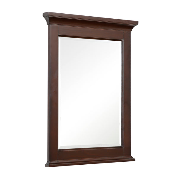 Newport 24-inch Wall Mirror (Chocolate)