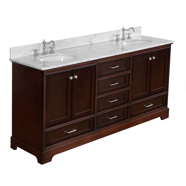 Harper 72-inch Double (Carrara/Chocolate)