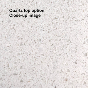 Nantucket 60-inch Single (Quartz/Charcoal Gray)