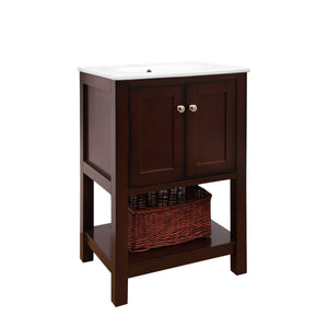 Lakeshore 24-inch Vanity (Chocolate)