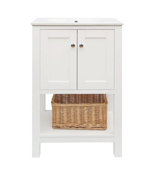 Lakeshore 24-inch Vanity with Ceramic Top