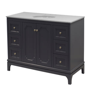 Starboard 48-inch Vanity with Quartz Top