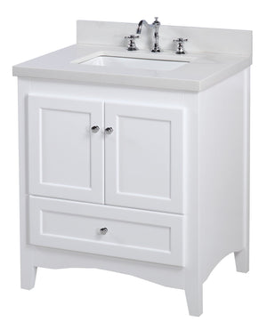 Abbey 30-inch Vanity (Quartz)