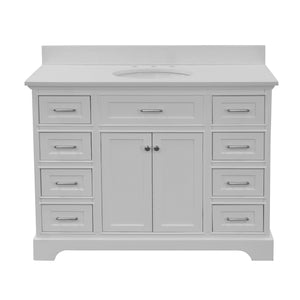 Aria 48-inch Vanity with Quartz Top