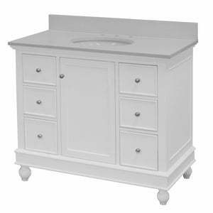 Bella 42-inch Vanity with Quartz Top