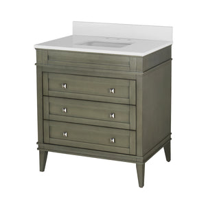 Eleanor 36-inch Vanity with Quartz Top