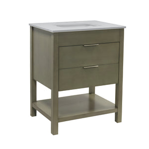 Harbor 30-inch Vanity with Quartz Top
