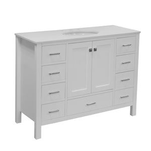 Horizon 48-inch Vanity with Quartz Top