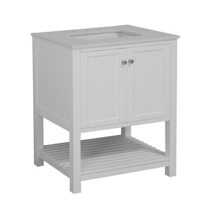 Lakeshore 30-inch Vanity with Quartz Top