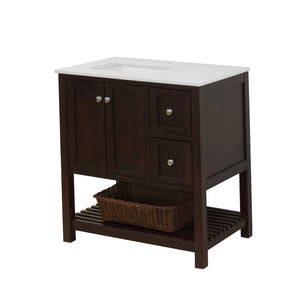 Lakeshore 36-inch Vanity with Quartz Top