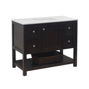 Lakeshore 42-inch Vanity with Quartz Top