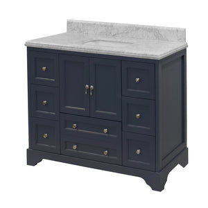 Madison 48-inch Vanity (Carrara Marble)