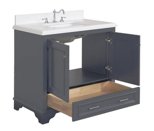 Nantucket 36-inch Vanity (Quartz)