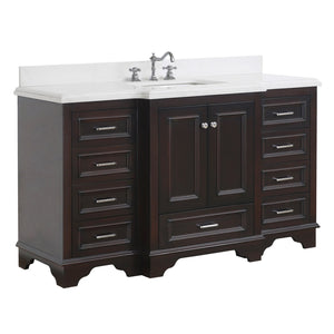 Nantucket 60-inch Single Vanity (Quartz)
